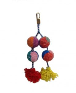 sheep wool keychain bella aborigen