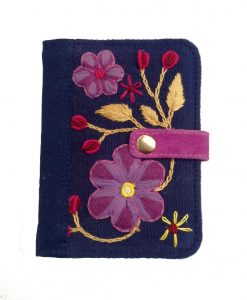 passaport case embroidery bella aborigen