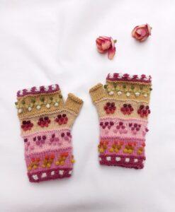 guantes sin dedo para niñas
